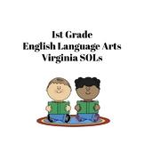 I Can Statements - Virginia 1st Grade ELA SOLs