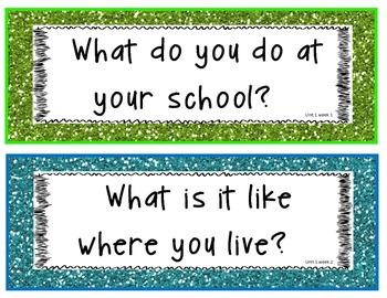 1st Grade Essential Questions-Wonders Series