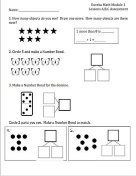 1st Grade Eureka Math ALL Modules Assessments