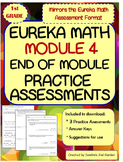 1st Grade Eureka Math / Engage NY End of Module 4 Practice Assessments