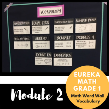 1st Grade Eureka Math Module 2 Vocabulary