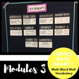 1st Grade Eureka Math Module 3 Vocabulary