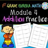 1st Grade 2-Digit Addition Practice (Eureka Math Module 4 aligned)