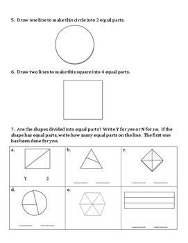 1st Grade Eureka Math Module 5 Topics A-C Assessment