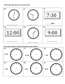 1st Grade Eureka Math Module 5 Topic D Assessment