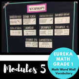 1st Grade Eureka Math Module 5 Vocabulary