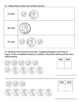 1st Grade Eureka Math Module 6 C-F Assessment