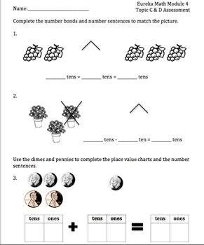 1st Grade Eureka Math Modules 3-6