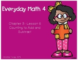 1st Grade - Everyday Math - Lesson 3.6 Flipchart