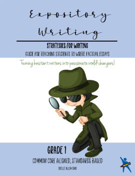 Informational Expository Writing 1st Grade Common Core  Wr