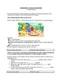 1st Grade Expressive Language and Articulation Screener