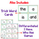 1st Grade FUNdamentally Differentiated Word Work Activities - Level 1, UNIT 2