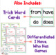 1st Grade FUNdamentally Differentiated Word Work Activities - Level 1, UNIT 5