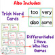 1st Grade FUNdamentally Differentiated Word Work Activities - Level 1, UNIT 7