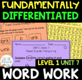 1st Grade FUNdamentally Differentiated Word Work Activitie