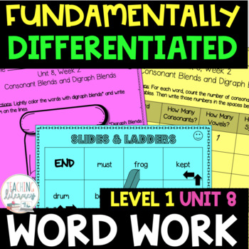 Fundation Level 1 Unit 8 Worksheets Teaching Resources TpT