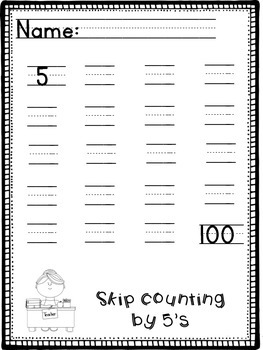 1st Grade Fall Skill Packet