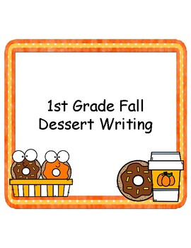 1st Grade Fall Writing