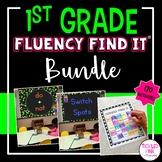 1st Grade Fluency Find It BUNDLE