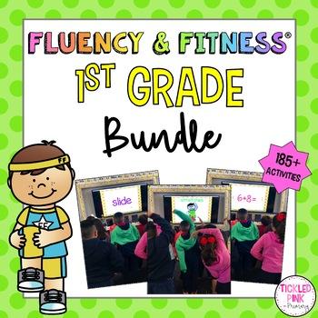 1st Grade Fluency & Fitness® Brain Breaks BUNDLE