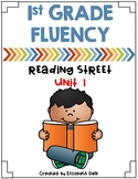 1st Grade Fluency Homework {Reading Street Unit 1}