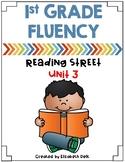 1st Grade Fluency Homework {Reading Street Unit 3}