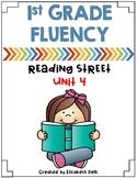1st Grade Fluency Homework {Reading Street Unit 4}
