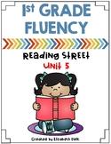 1st Grade Fluency Homework {Reading Street Unit 5}