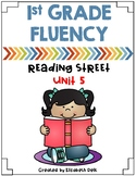 1st Grade Fluency Homework {Reading Street Unit 5}