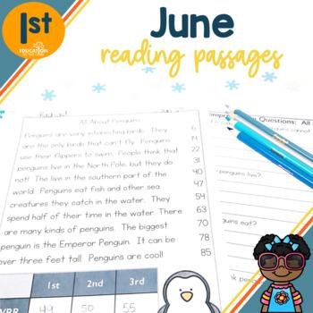 1st Grade Fluency Passages for June