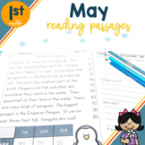 1st Grade Fluency Passages for May