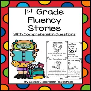 1st Grade Fluency Stories