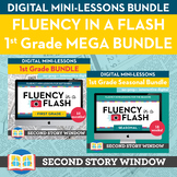 1st Grade Fluency in a Flash MEGA bundle • Digital Mini Lessons