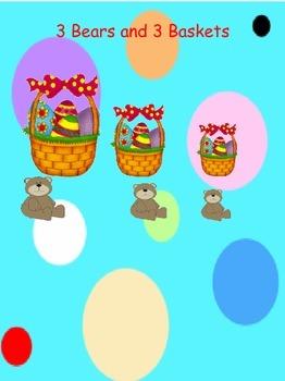 Fractions for 1st Grade-Easter