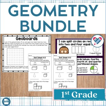 Geometry Bundle 1st Grade