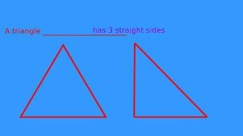 1st Grade Geometry - Plane Shapes