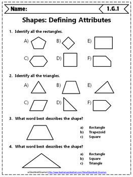 1st grade geometry worksheets 1st grade math worksheets geometry. Black Bedroom Furniture Sets. Home Design Ideas