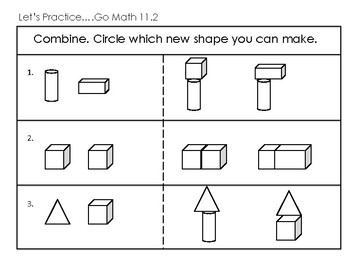 1st Grade Go Math Ch. 11 Review Sheets