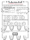 1st Grade Go Math Chapter 10 Study Sheet for Parents