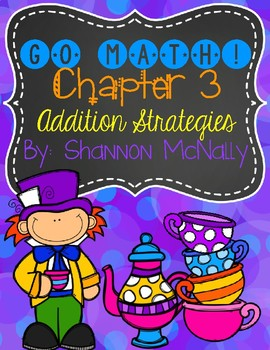 1st Grade Go Math Chapter 3 Centers