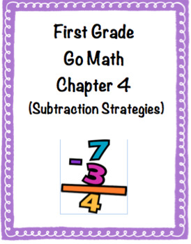 1st Grade Go Math Chapter 4