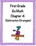 1st Grade Go Math Chapter 4