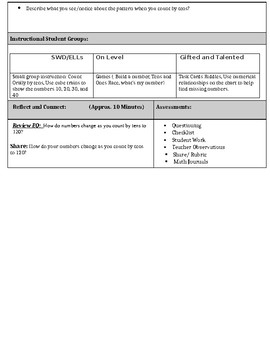 1st Grade Go Math Chapter 6 Lesson Plans