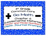 1st Grade Go Math Chapter 6 Math Journal Prompts Common Core