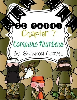 1st Grade Go Math Chapter 7 Centers