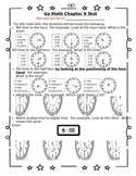 1st Grade Go Math Chapter 9 Study Sheet for Parents