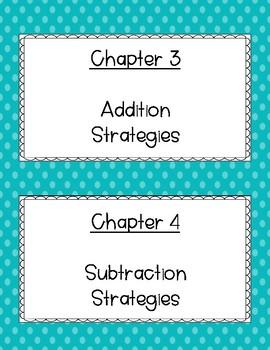 Go! Math Chapter Topics & Essential Questions (1st Grade)