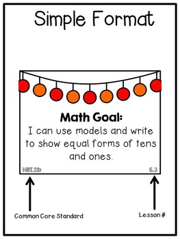 First Grade I Can Statements: Go Math
