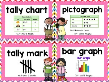 1st Grade GoMath Word Wall Cards