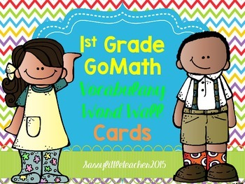 1st Grade GoMath Word Wall Cards